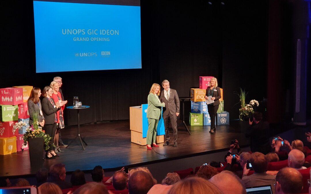 """FN-Inkubatorn invigd – """"En dag för förändring och hopp"""""""