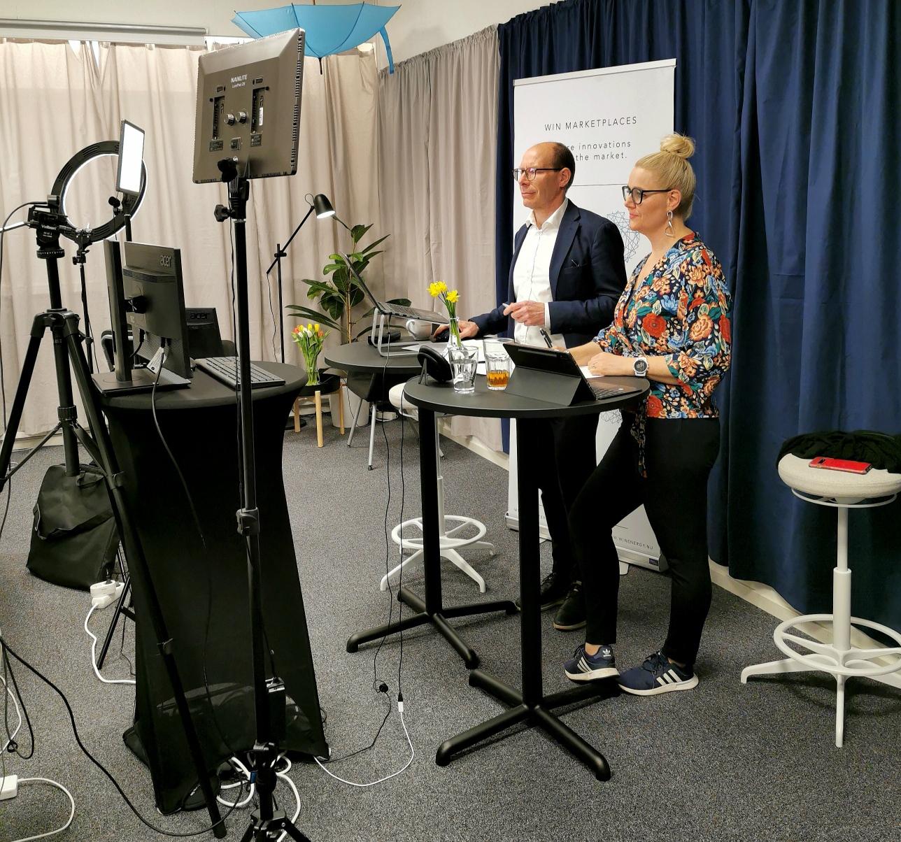 Digital event in WIN studio